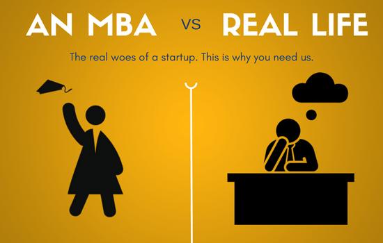MBA vs REAL LIFE